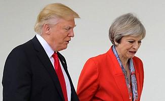 May ile Trump, Doğu Guta'yı görüştü