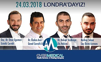 Over Medical Doktorları 24 Mart'ta Londra'da
