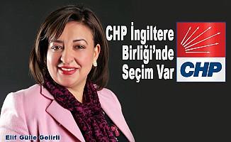 Elif Gülle Gelirli, CHP İngiltere Birliği Başkanlığına Aday