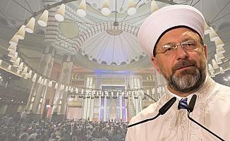 "Erbaş'tan, Miraç Kandili'nde ""Mescid-i Aksa"" Mesajı"