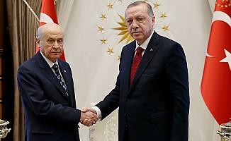 Erdoğan ile Bahçeli'nin  'Erken Seçim' Zirvesi
