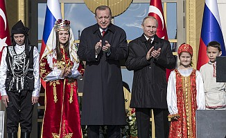 Erdoğan ile Putin, Akkuyu Nükleer Güç Santrali'nin Temelini Attı