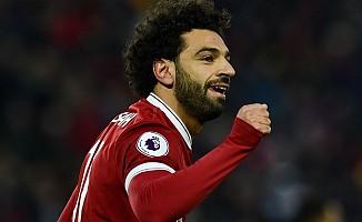 Liverpool'u Salah, gol rekoruna ortak oldu