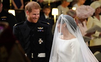 Prens Harry ve Meghan Markle'ın düğününü  29 milyon kişi izledi
