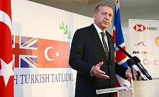 Erdoğan'dan İngiliz iş adamlarına çağrı
