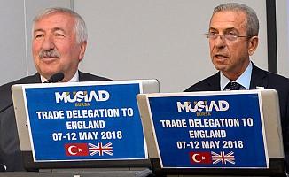 MÜSİAD Bursa'nın Londra çıkarması
