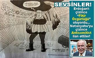Netanyahu'nun karikatürünü çizdi, işinden kovuldu!