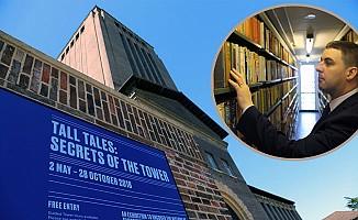 Ünlü üniversite gizemli kulesini halka açtı