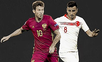 A Milli Futbol Takımı, Rusya Maçının Kadrosu Belli Oldu