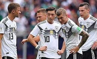 Almanya, Dünya kupasından veda etti