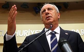 CHP Cumhurbaşkanı Adayı İnce Sonuçları Değerlendirdi