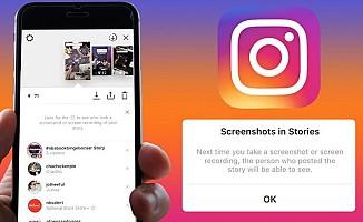 Instagram'dan ekran görüntüsü alanlara uyarı