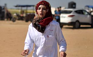 İsrail'in Katil Nişancıları, Kadın Doktoru Şehit Etti