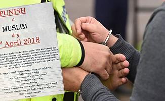 Müslümanları Tehdit Mektubuna İlk Gözaltı!