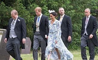 Prens Harry ve Meghan Markle ilgi odağı oldu