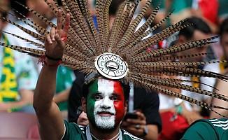 Rusya'nın Başkenti Moskova'da Meksikalıların Günü