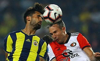 Fenerbahçe, Feyenoord'a karşı iyi başladı ama...
