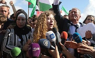 İsrail, 'Filistinli Cesur Kız'ı Serbest Bıraktı