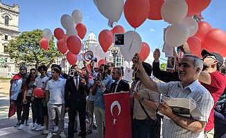 """Londra'da """"15 Temmuz Demokrasi ve Milli Birlik Günü"""" etkinliği"""