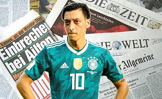 Mesut Özil'in Almanya Milli Takımı'nı bırakmasını Alman medyası böyle gördü