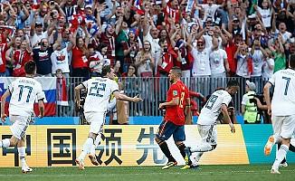 Rusya penaltılarla çeyrek finalde