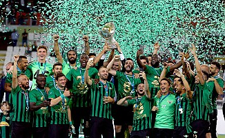 Akhisarspor, Süper Kupa'nın Sahibi Oldu