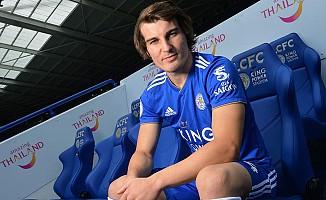 Çağlar Söyüncü, Leicester City'de 4 numaralı formayı giyecek