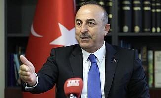 Çavuşoğlu'ndan ABD'nin Türk bakanlara yaptırım kararına tepki