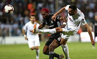 Erzurumspor, Beşiktaş karşısında direnemedi