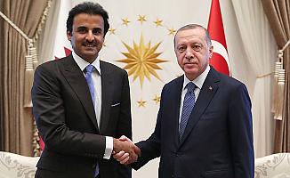 Katar Emiri'nden Ankara'ya Destek Ziyareti