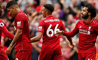 Liverpool, West Ham United'ı 4-0 Yendi