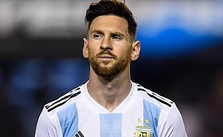 Messi Arjantin Milli Takımı'na ara verdi