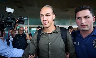 Michael Frey, Fenerbahçe için İstanbul'da