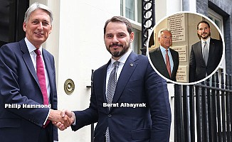 Bakan Albayrak, Londra'da finans kuruluşlarının yöneticileri ile görüştü