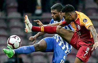 Galatasaray, Erzurumspor'u Puansız Ağırladı