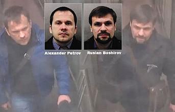 İngiliz Polisi, Çifte Ajan Skripal'i Zehirleyen Şüphelileri Açıkladı