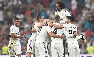 Real Madrid, Leganes'i farklı mağlup etti