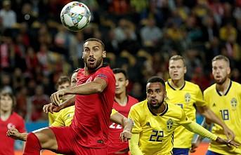 Türkiye İsveç karşısında 3 puanı kaptı