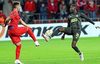 Akhisarspor'un çabası Standard Liege'yi yenmeye yetmedi