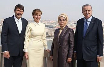 Cumhurbaşkanı Erdoğan Macaristan'ada