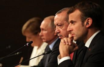 """Dört liderden """"Suriye'nin egemenliği bağımsızlığı ve toprak bütünlüğü"""" teyidi"""