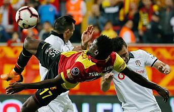 Göztepe, farklı galibiyetle Beşiktaş'a fırsat tanımadı