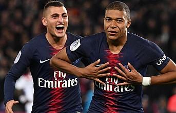 Mbappe'nin 4 gol attığı maçta PSG, Lyon'u 5-0 yendi