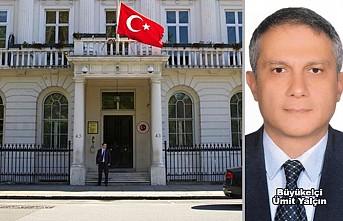 Türkiye'nin Yeni Londra Büyükelçisi Ümit Yalçın Göreve Başladı