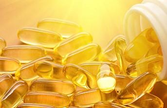 Yüksek D vitamini formda tutuyor