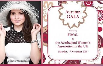 İngiltere Azerbaycan Kadınlar Birliği'nden FIWAL ile ortak gala
