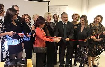 Karma Türk Ressamları Sergisinin Açılışını Büyükelçi Ümit Yalçın Yaptı