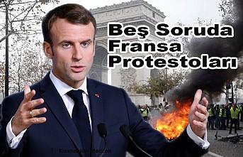 """Macron'un """"elitist"""" politikaları Fransa'yı sokağa döktü"""