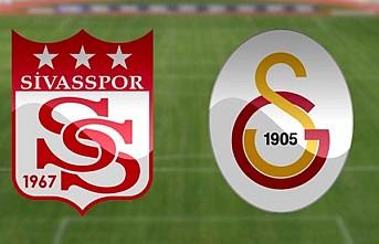 Galatasaray, Sivasspor'u Ağırlıyor