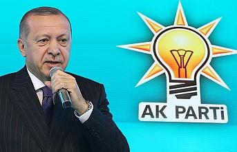 AK Parti'nin 11 Maddelik Seçim Manifestosunu Erdoğan Açıkladı